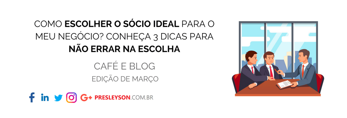 Como encontrar o sócio ideal